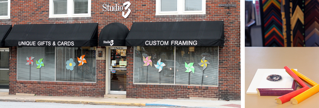 Studio 3 Custom Framing